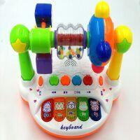 儿童礼物0-1岁婴儿玩具3-6个月女宝宝益智小孩2三4男5五六8电子琴
