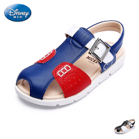 迪士尼童鞋儿童沙滩鞋2017春季新款小童透气凉鞋男童防滑休闲鞋男DS1976