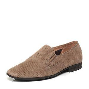BATA/拔佳夏季专柜同款羊绒皮男单鞋(超软)81C03BM6