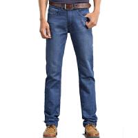 1号牛仔 男士牛仔裤直筒小脚裤韩版修身薄款青少年长裤子潮男