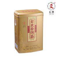 爻牌金质普洱茶 陈化6年勐海陈年普洱熟散茶包入 500g罐