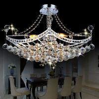 祺家 水晶灯奢华水晶艺术船型餐吊灯客厅灯卧室灯SD13