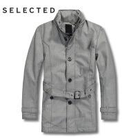 思莱德 长款男士 棉服 外套 10-4-1-413122001011