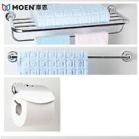 MOEN/摩恩 镀�t 铜本体 优质卫浴挂件浴室五金挂件三件套 泰勒90028+90019+90123