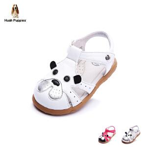 暇步士童鞋2017年春夏新款女童凉鞋小童卡通学生鞋宝宝鞋DP9045