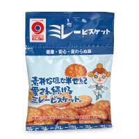 日本进口野村米乐 4包 健康饼干 婴幼儿宝宝磨牙饼干零食
