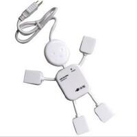 可爱小人形USB2.0一拖四集线器 分线器 扩展器 时尚HUB