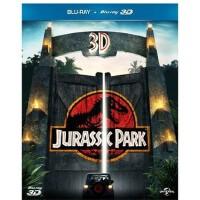 正版 3d蓝光碟侏罗纪公园山姆・尼尔1080P高清3D+2D蓝光电影