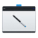 Wacom数位板Intuos CTL-480绘图板CTL480绘画板490正品行货
