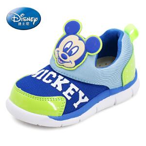 迪士尼童鞋婴儿学步鞋春秋2016新款男女童运动鞋 1-3岁小童宝宝鞋