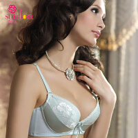 桑扶兰女士内衣 性感蕾丝侧收副乳调整型文胸聚拢AKA05