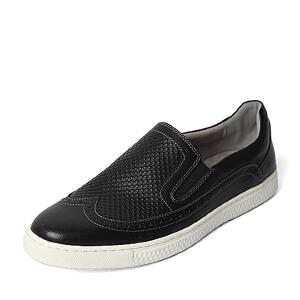 Teenmix/天美意春季专柜同款软面牛皮革男休闲鞋AVX07AM6 专柜1