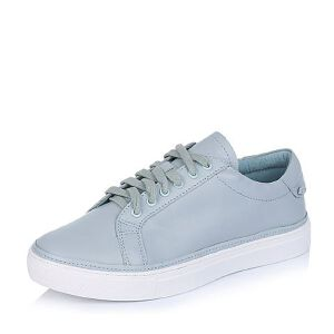 BASTO/百思图专柜同款牛皮女单鞋TW323CM6小白鞋运动鞋女小白鞋女