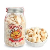 禾泱泱RIVSEA 原味蛋酥儿童零食营养辅食宝宝磨牙饼干小馒头 140g