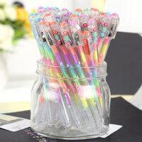 6色粉彩笔 水溶粉彩笔 梦幻笔 水粉笔 DIY相册笔 0.8mm