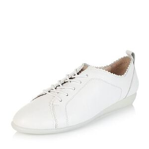 Bata/拔佳牛皮革女休闲鞋55430CM6