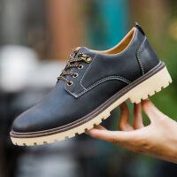 2017夏季新品单鞋 英伦男鞋日常休闲男士皮鞋布洛克雕花鞋尖头男潮鞋9901JQ