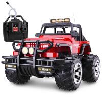 胜雄 大尺寸悍马越野车遥控车充电儿童玩具车模遥控汽车模型男孩玩具