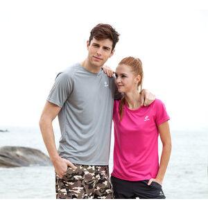 TECTOP正品户外运动登山情侣t恤 透气短袖夏季速干t恤