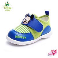 迪士尼童鞋2017年男女童旅游鞋婴童休闲鞋宝宝鞋 DH0084
