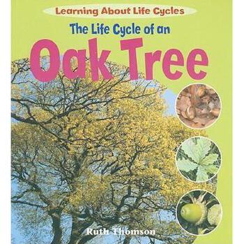 【预订】the life cycle of an oak tree 美国库房发货,通常付款后5-8