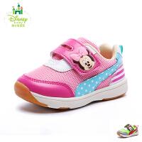 迪士尼2017春秋新款男宝宝鞋女宝宝鞋男女童鞋幼童学步鞋米奇鞋DH0078