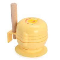 黄色小鸭PIYOPIYO 婴幼儿七件组抗菌食物调理器 礼盒食物研磨器