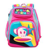 Paul Frank大嘴猴 儿童书包小学生1-3年级书包 女生双肩背包PKY2054