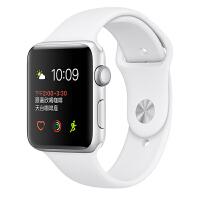 [当当自营] Apple Watch Sport Series 2智能手表(42毫米银色铝金属表壳搭配白色运动型表带 MNPJ2CH/A)