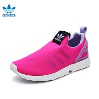 阿迪达斯adidas童鞋三叶草系列儿童运动鞋女童运动鞋夏款小童户外休闲鞋 BA7822