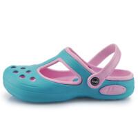 回力洞洞鞋时尚防滑女鞋沙滩鞋百搭艳丽包头花园凉拖鞋6741
