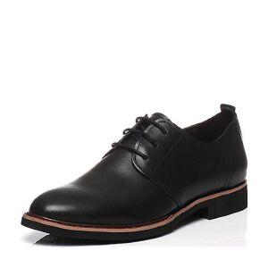 BASTO/百思图2017春季专柜同款牛皮系带男皮鞋男单鞋AYF06AM7
