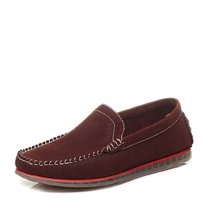 Belle/百丽专柜同款夏季时尚休闲男单鞋4LL01BM6