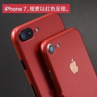 iphone7变红色iphone7plus手机贴纸装饰背膜彩膜6s连体全包后膜