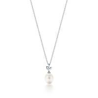 【当当自营】 蒂芙尼(Tiffany & Co.)新款纯银淡水珍珠吊坠项链 35249508