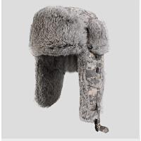男潮时尚兔毛雷锋帽飞行帽男士冬季帽子户外男士冬