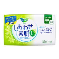 [当当自营] 花王 乐而雅 F透气棉柔 纤巧日用护翼型进口卫生巾 22.5cm 22片