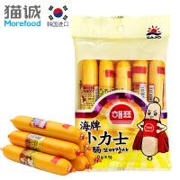 韩国进口 海牌小力士鱼肠100g/包(20g*5根) 鱼肉肠火腿肠 经典怀旧零食