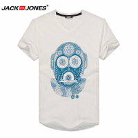 杰克琼斯时尚休闲百搭T恤1-1-8-214201014023