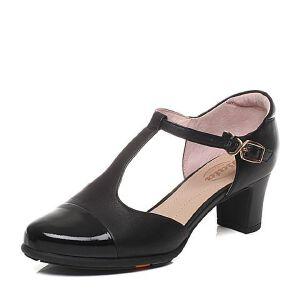 BATA/拔佳春季专柜同款绵羊皮女凉鞋(超软)AQ704AK6