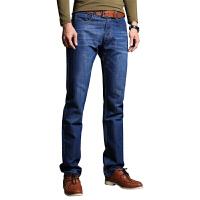 1号牛仔 男士新款直筒简约时尚牛仔裤