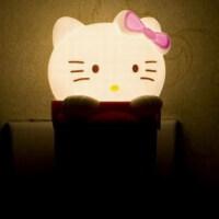 创意卡通可爱节能光控灯 LED小夜灯 壁灯楼道灯 宝宝卧室灯 床头喂奶灯 KT猫