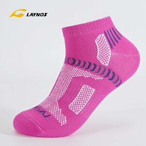 雷诺斯男士户外运动袜子户外徒步旅行短袜吸汗防臭脚袜