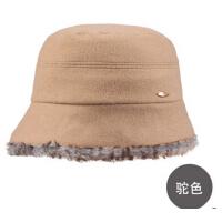 时尚女士冬帽加厚保暖帽子 秋冬女士盆帽优雅小礼帽