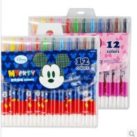 真彩 迪士尼  旋转蜡笔 油画棒儿童蜡笔