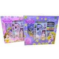 迪士尼文具 礼盒套装 小学生书包套装  女孩 圣诞节礼物 儿童生日礼包   文具盒 公主书包