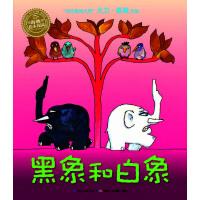 海豚绘本花园:黑象和白象(平装)