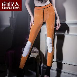 南极人超厚东北大棉裤女士加绒加厚黄金绒三层护膝暖宫保暖裤