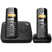 集怡嘉(原SIEMENS)C585数字无绳电话机录音中文家用子母机德国来电显示电话机