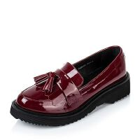 Tata/他她年专柜同款牛皮女单鞋2DO03CQ6